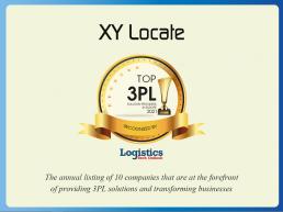 xy locate awards